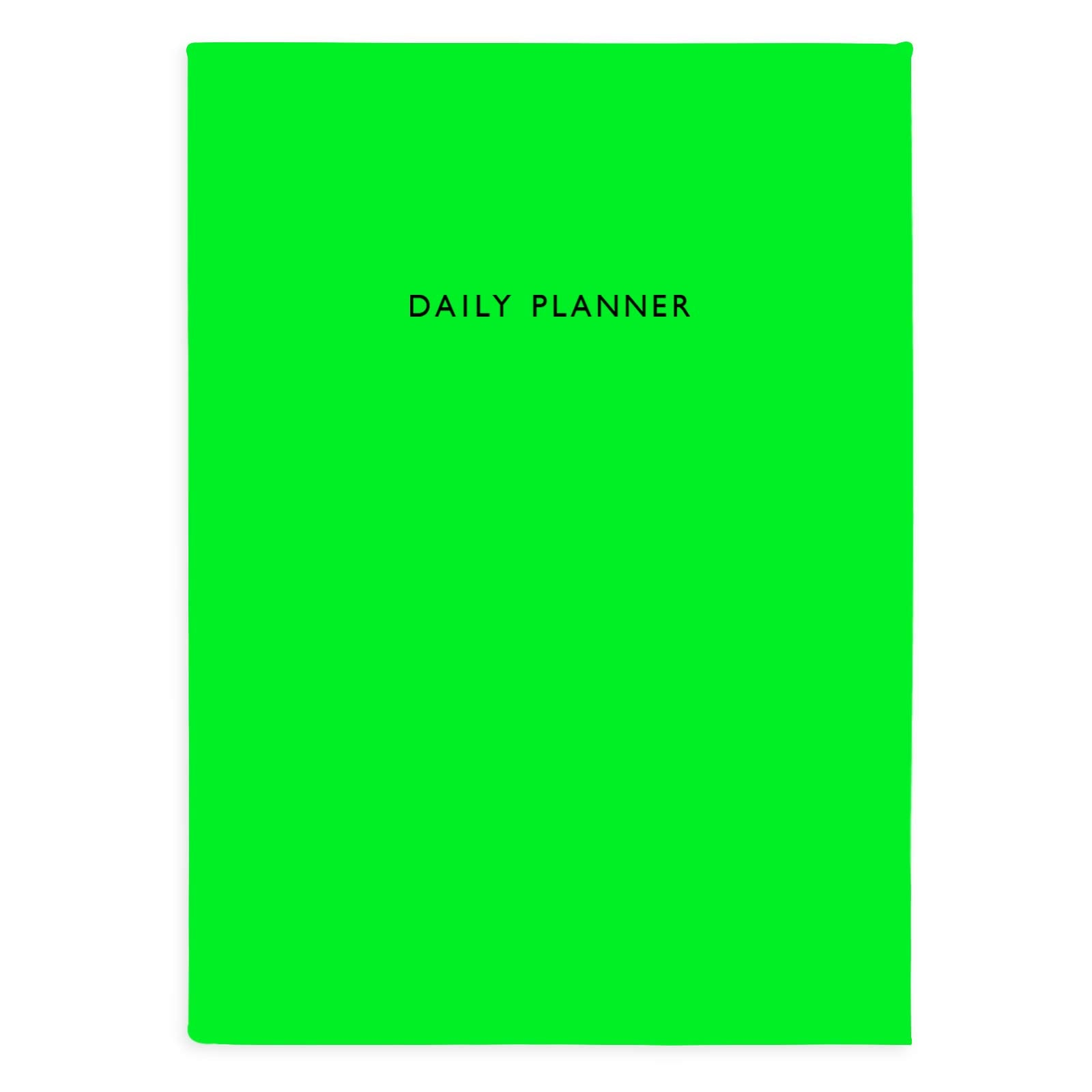 Neon Green Daily Planner