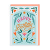 Birthday Floral Greeting Card