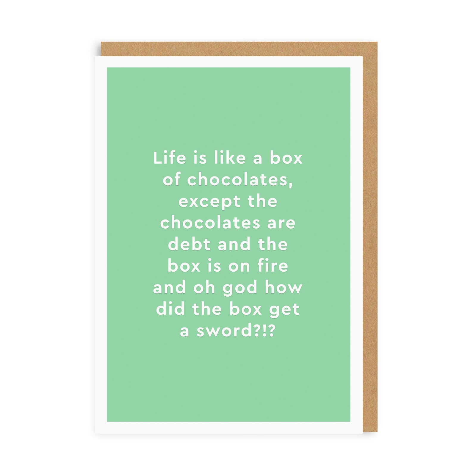 Box of Chocolates Greeting Card