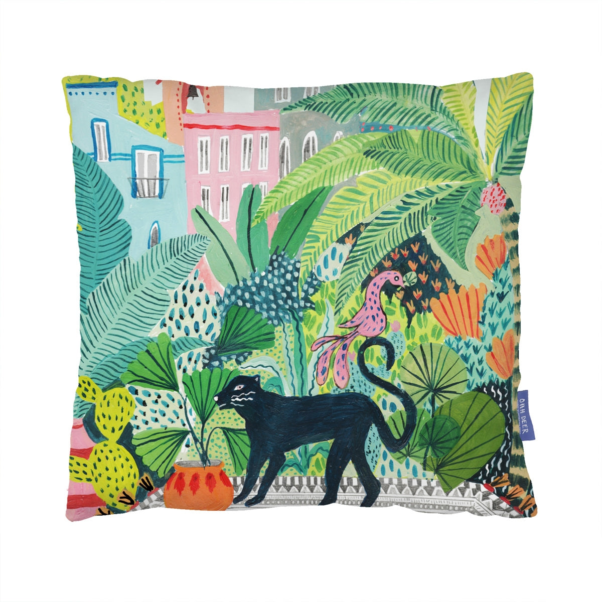 Jungle Panther Cushion