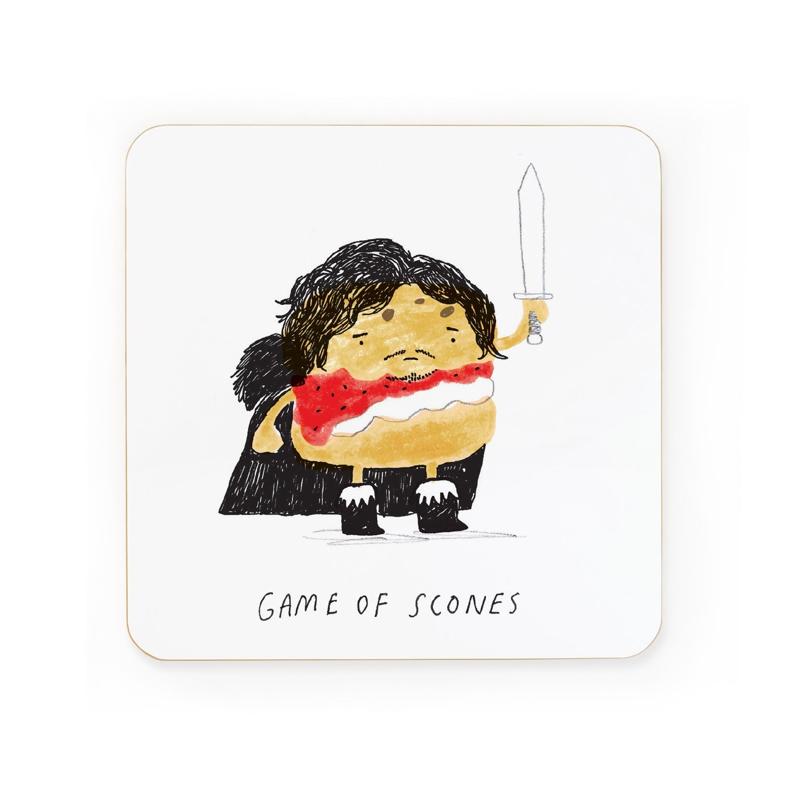 Game of Scones Coaster