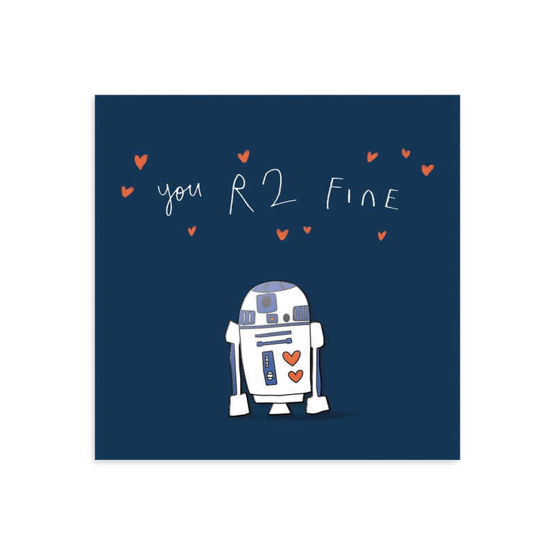 You R2 Fine Enamel Pin
