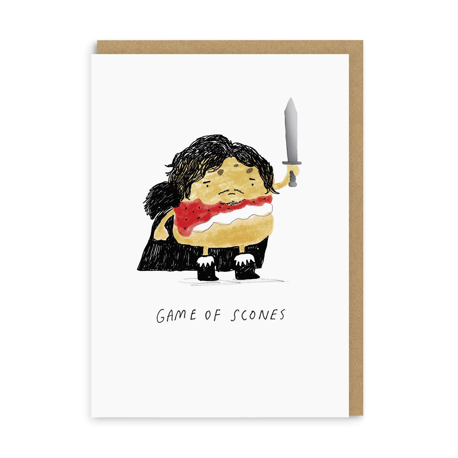 Game Of Scones Greeting Card