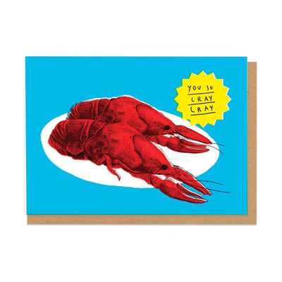 Cray Cray Greeting Card