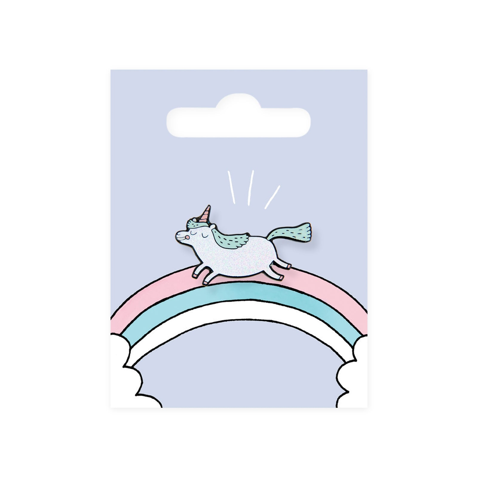 Magical Unicorn Enamel Pin