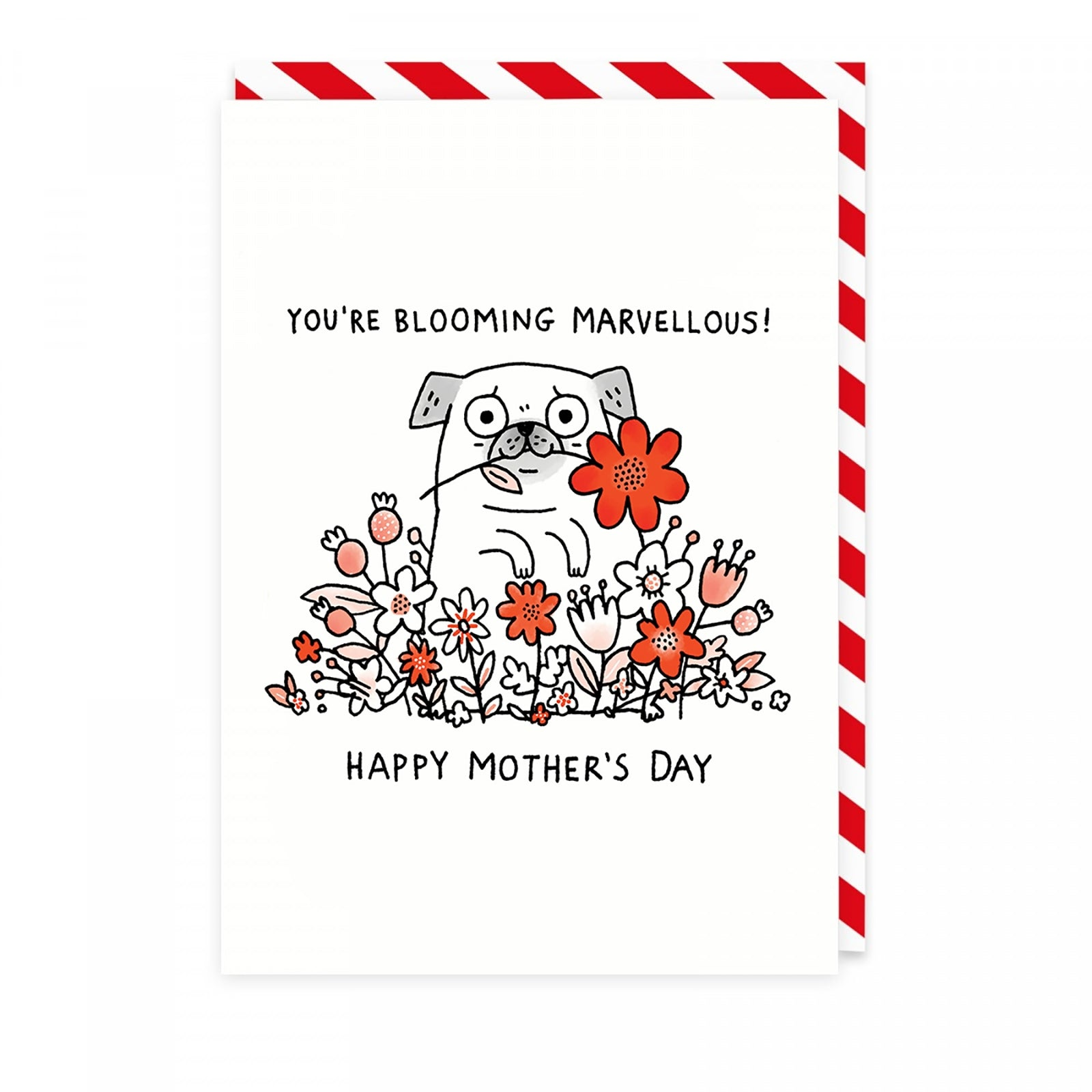 Blooming Marvellous Mum Greeting Card