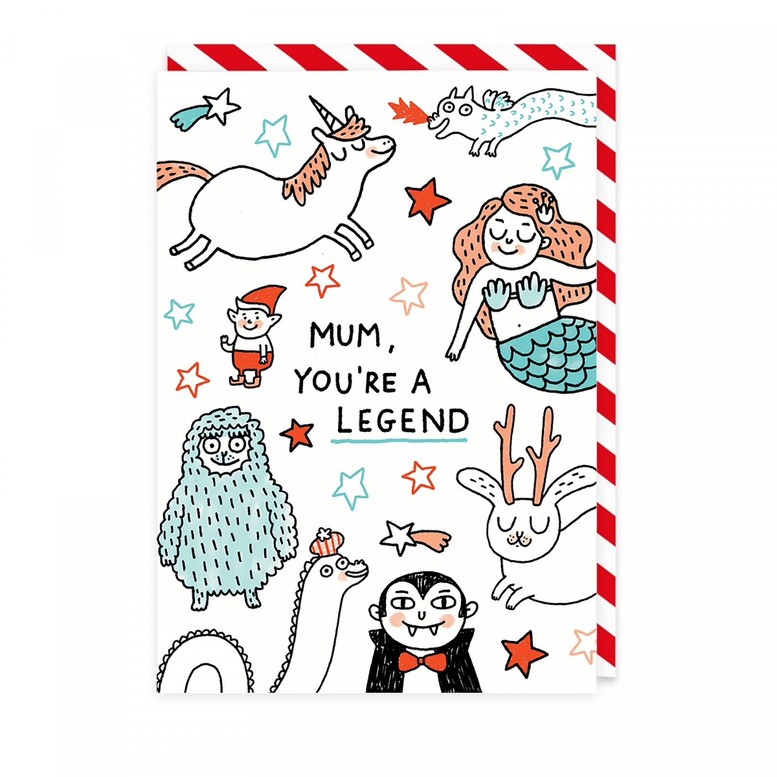 You're A Legend Mum Greeting Card