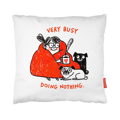 Doing Nothing Cushion