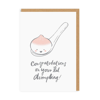 Congratulations On Your 'Lil Dumpling Greeting Card