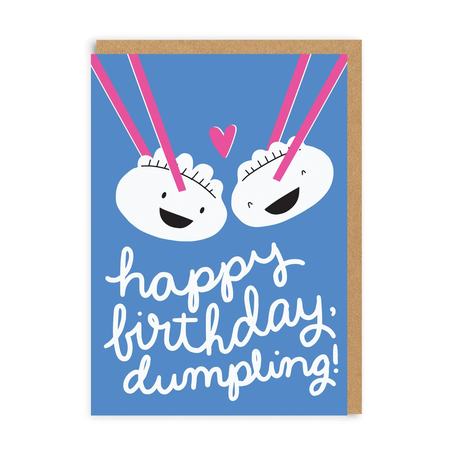 Couple Dumplings Greeting Card