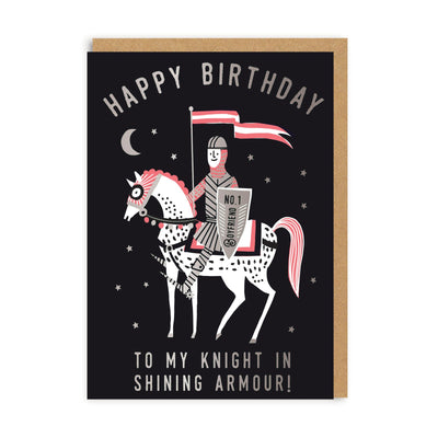 Boyfriend Knight Greeting Card