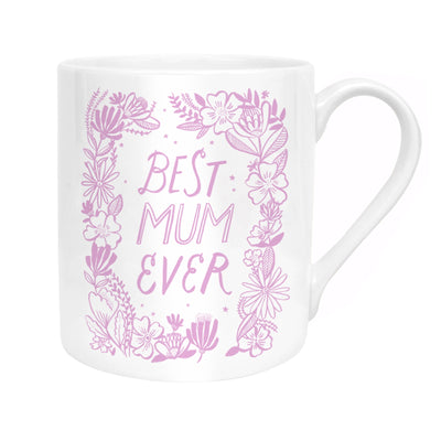 Best Mum Wreath Mug