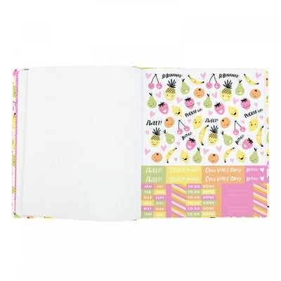 Sweet Ideas Faux Quarterbound A5ish Notebook
