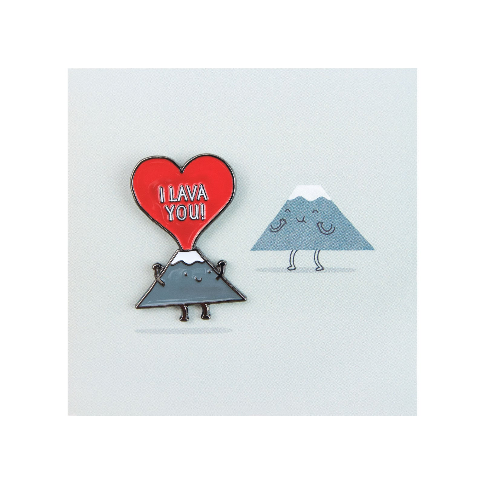 I Lava You Enamel Pin