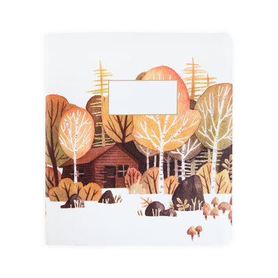 Woodland Visit A5ish Notebook