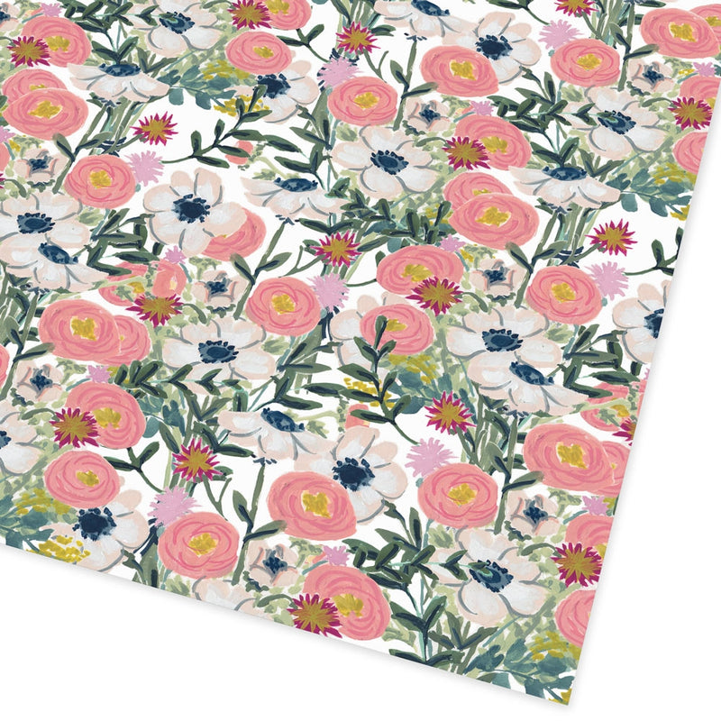 Floral Wrap Flat Giftwrap