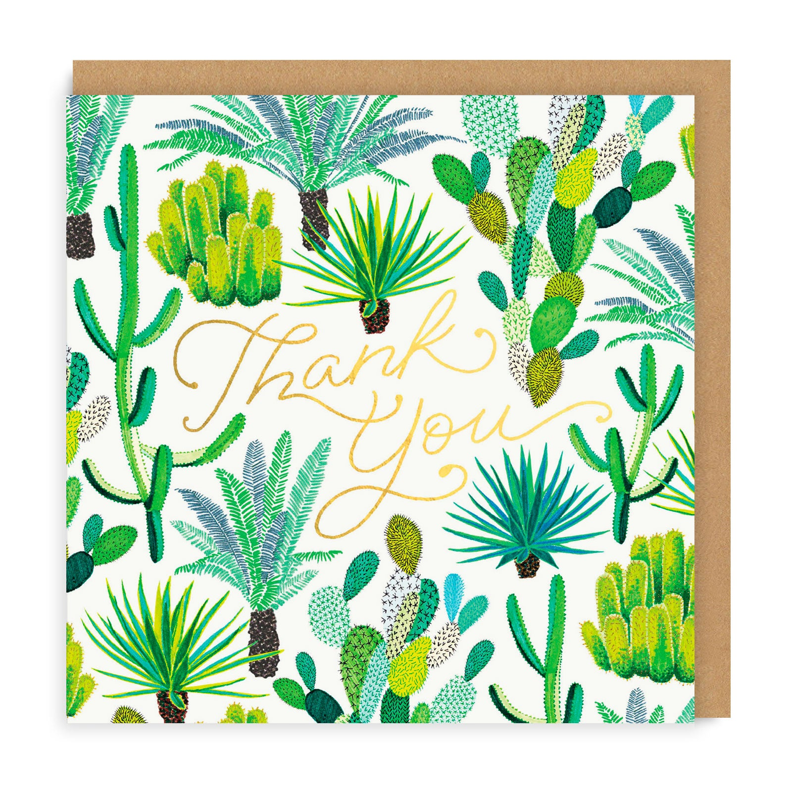 Cacti Thank You Greeting Card