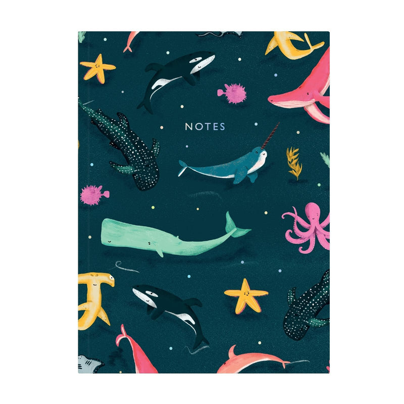 Under The Sea Perfect Bound Notebook