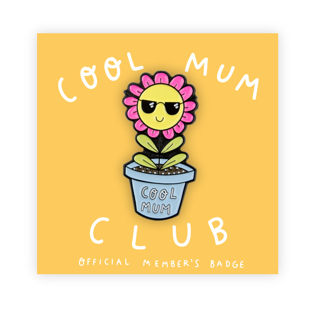 Cool Mum Club Pin
