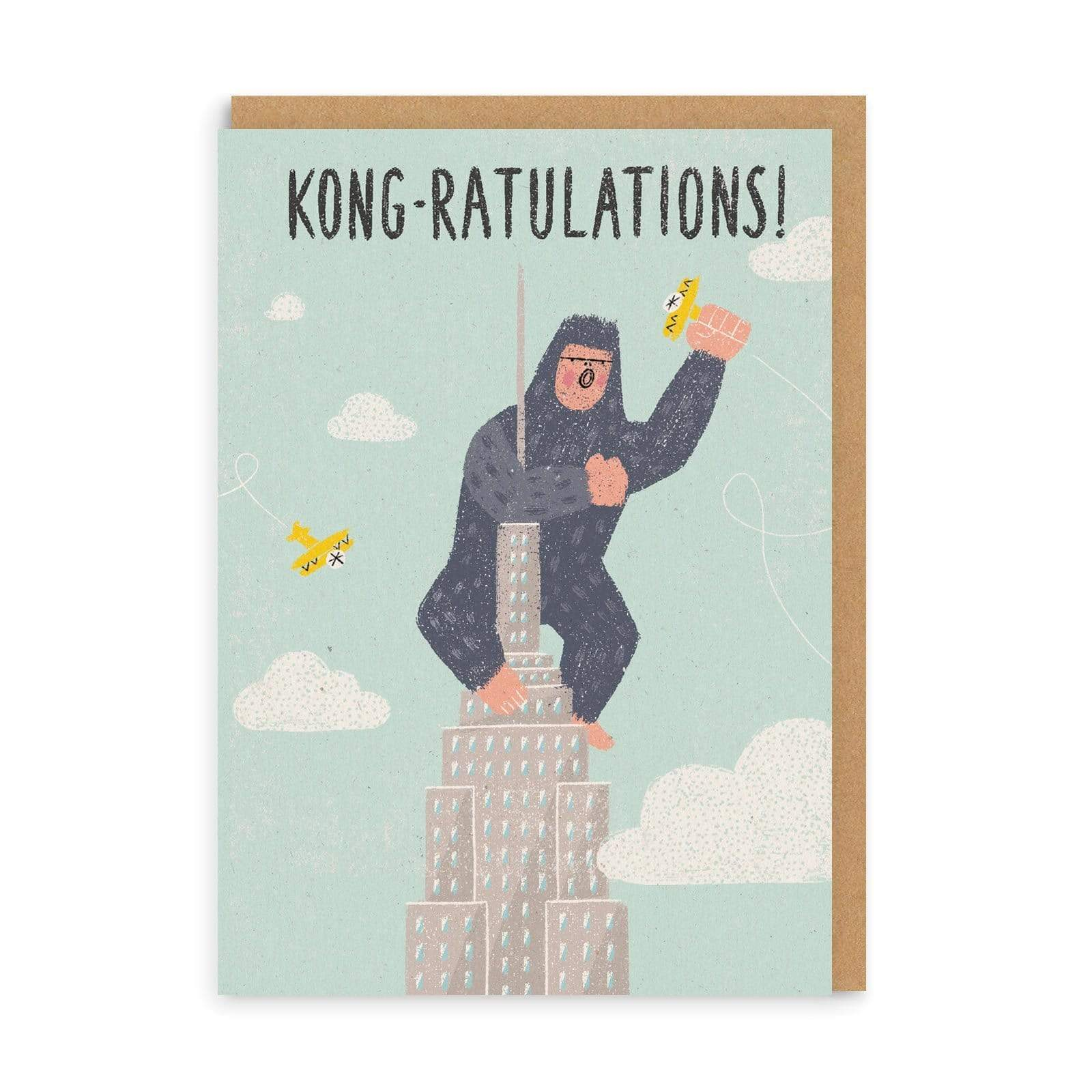 Kongratulations Greeting Card