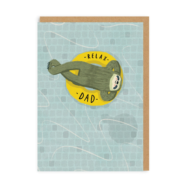 Relax Dad Greeting Card