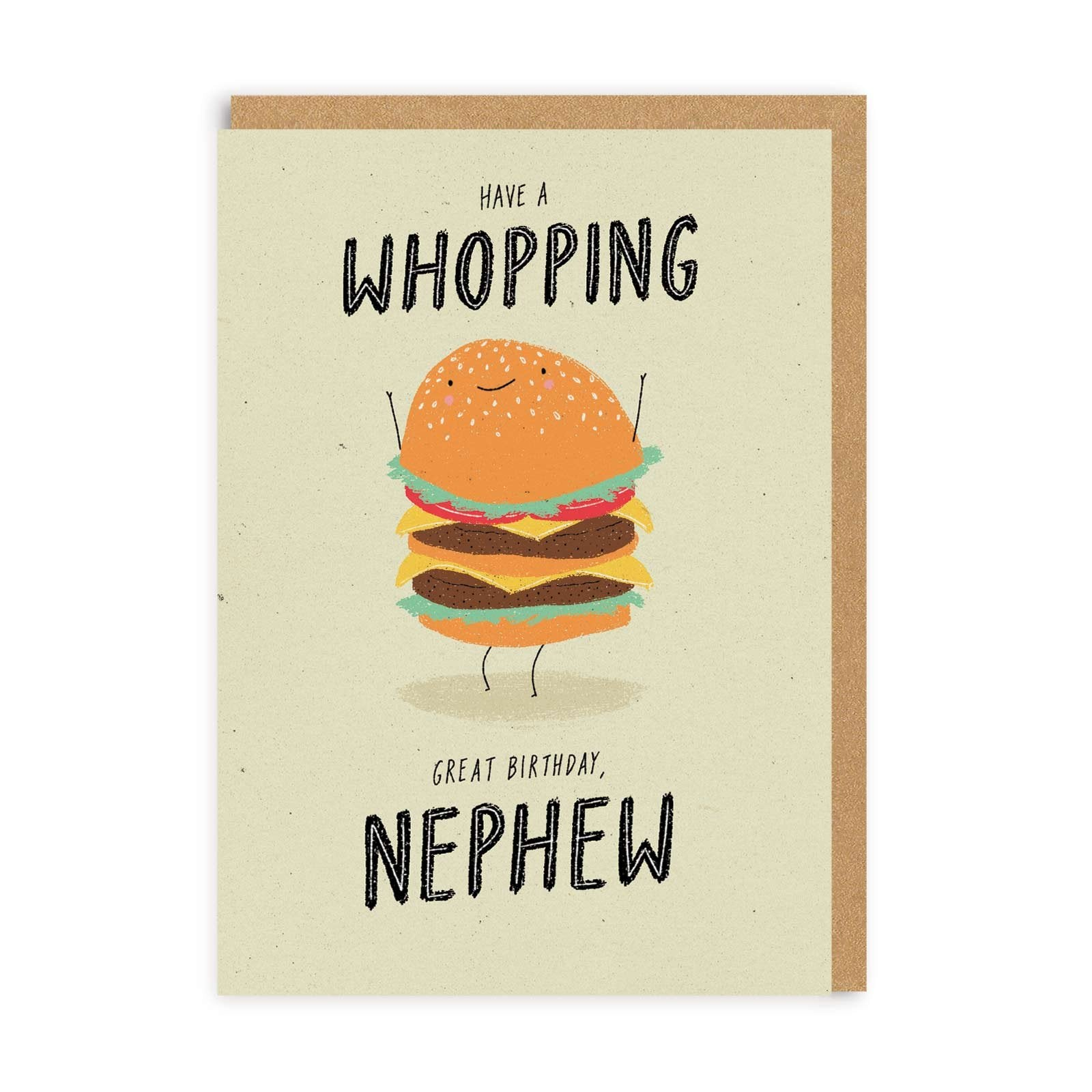 Whopping Nephew Greeting Card