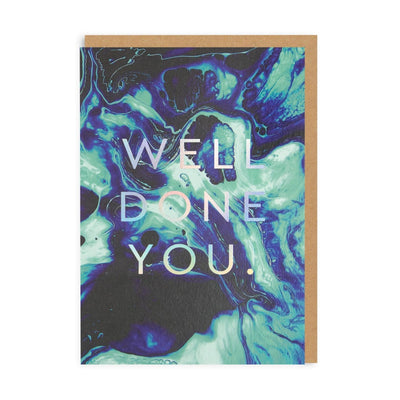 Well Done You Greeting Card