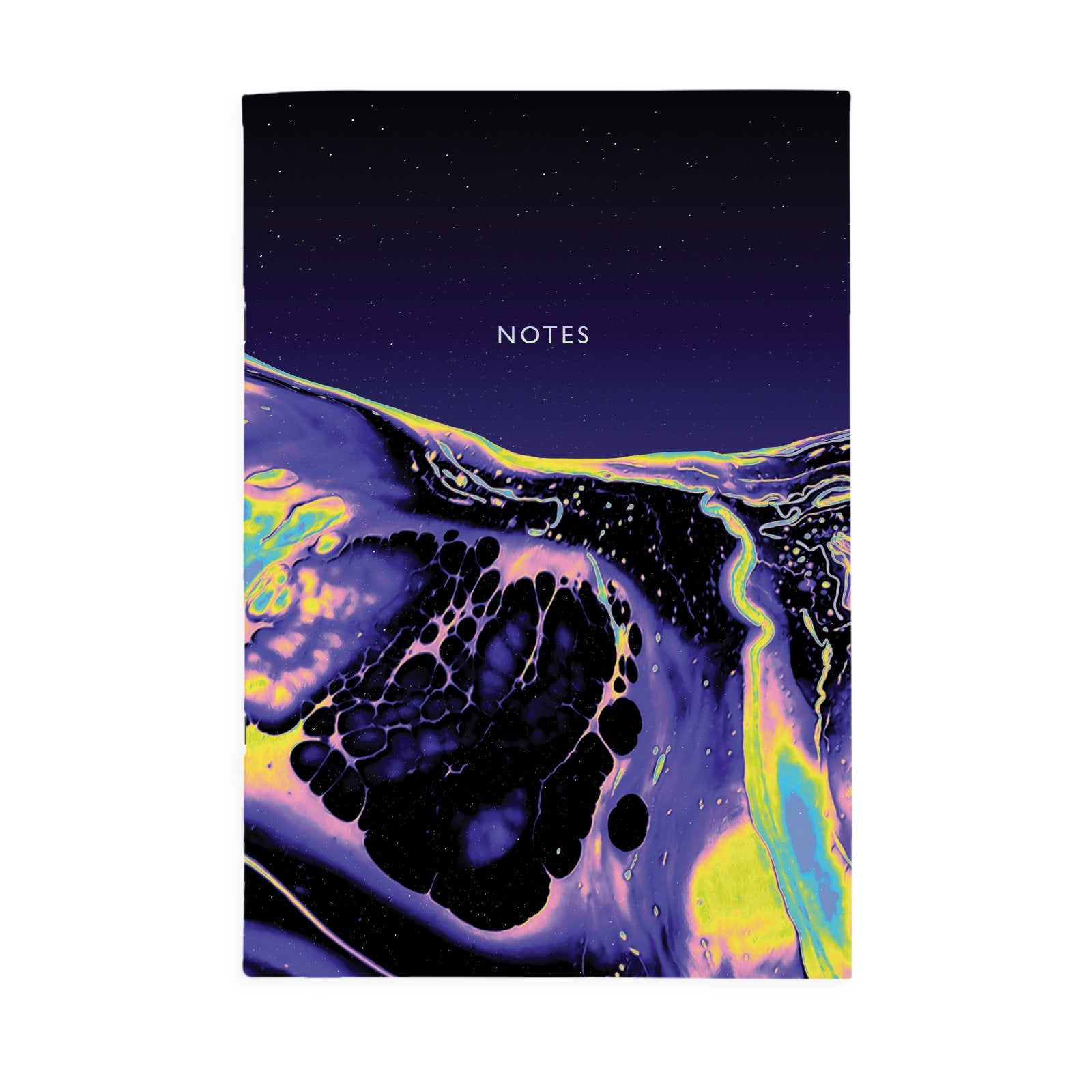 Purple Deep A4ish Notebook