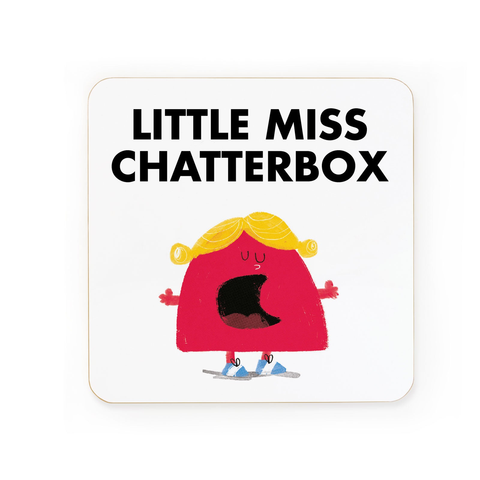 Little Miss Chatterbox Coaster