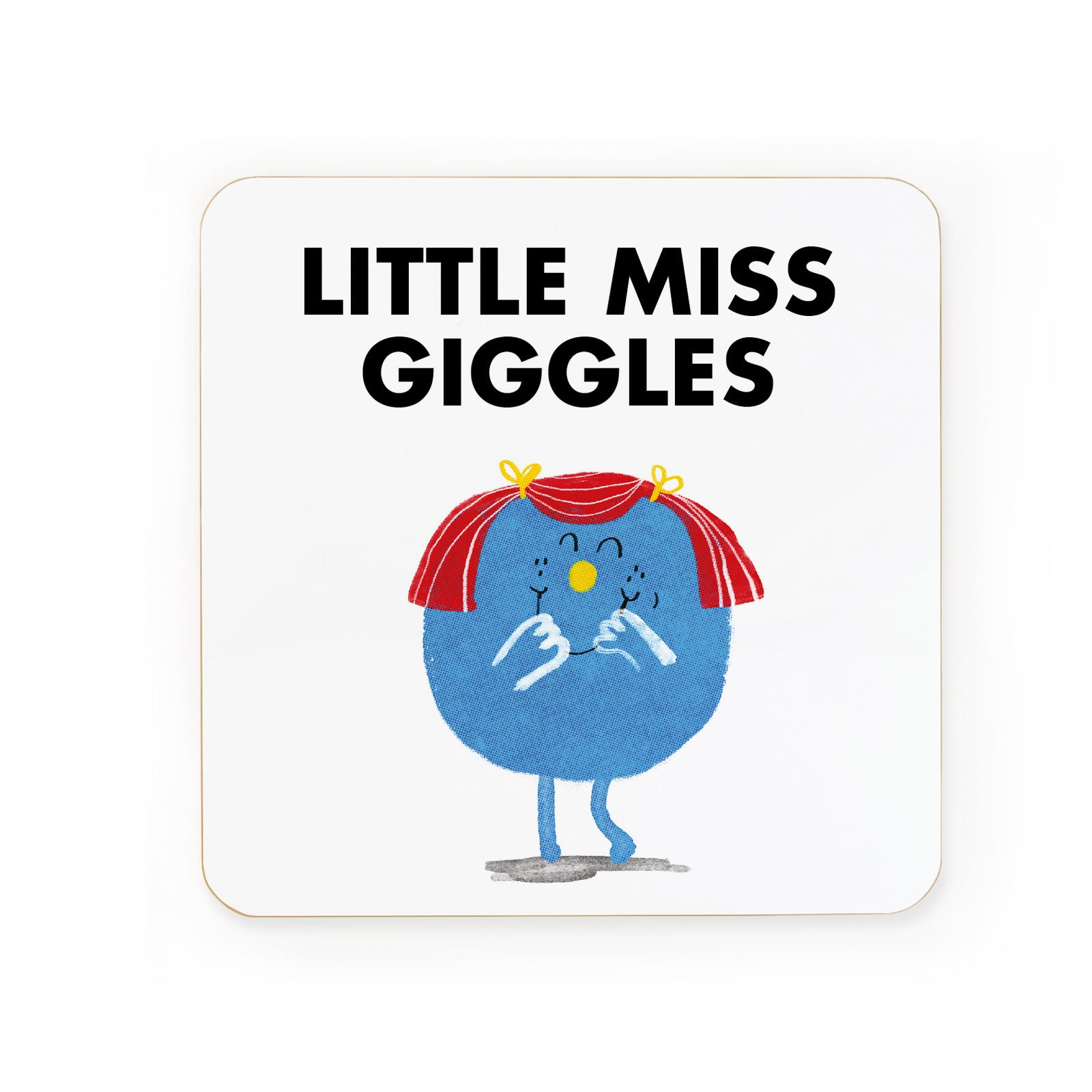 Little Miss Giggles Coaster