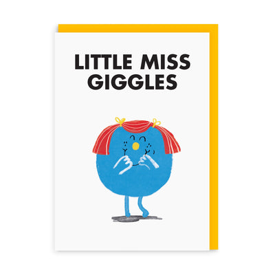 SAIN Little Miss Giggles Greeting Card