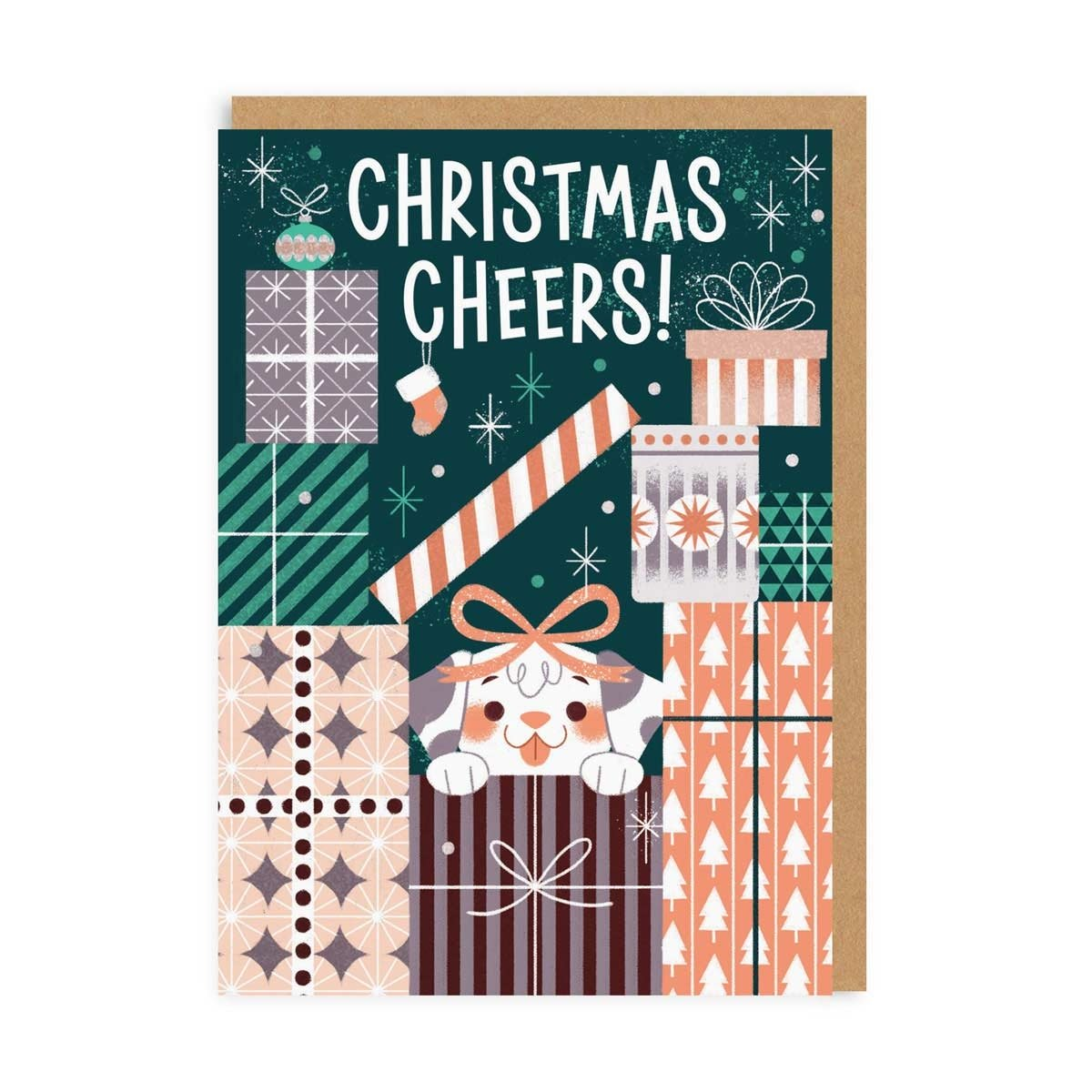 Christmas Cheers Greeting Card
