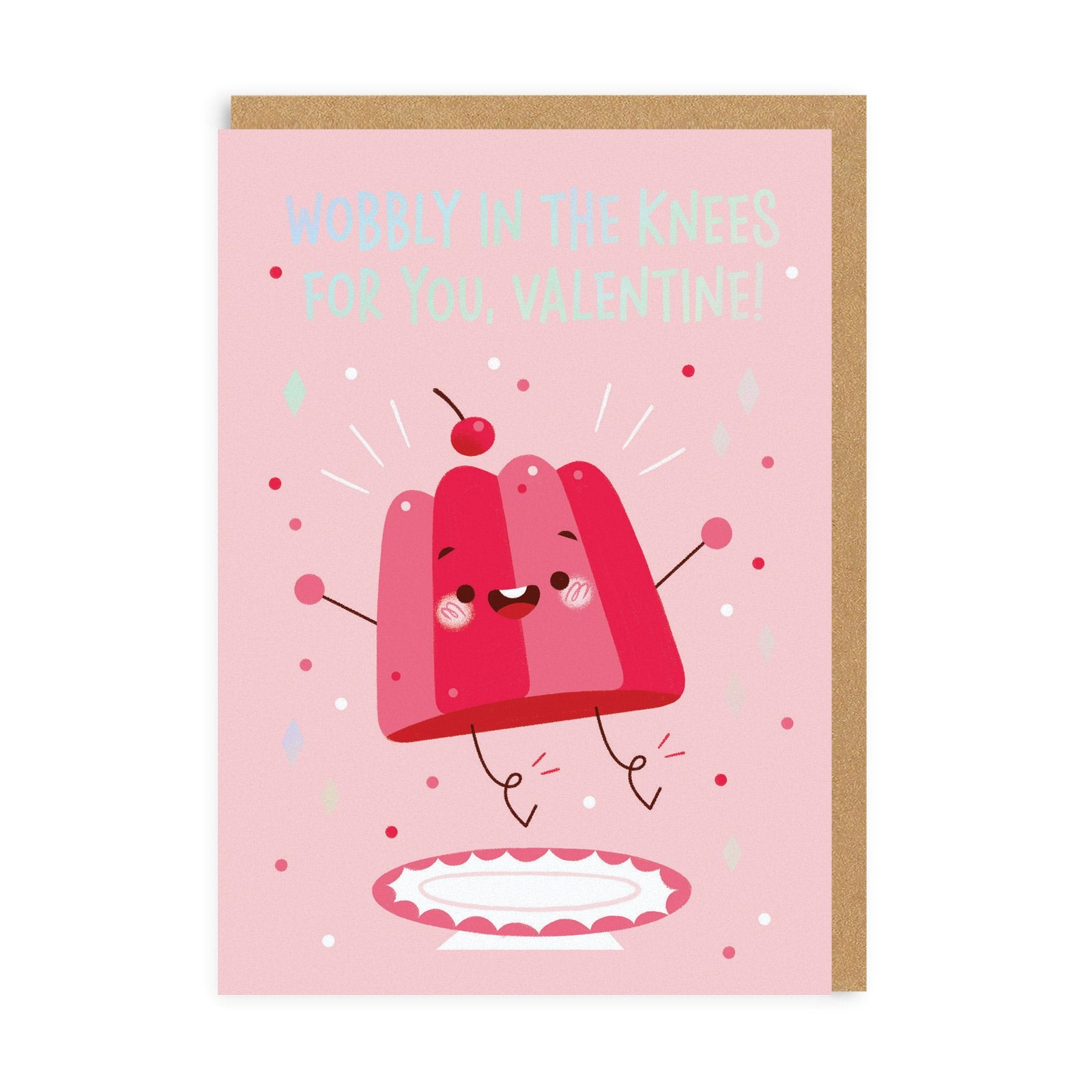 Wobbly In the Knees Greeting Card