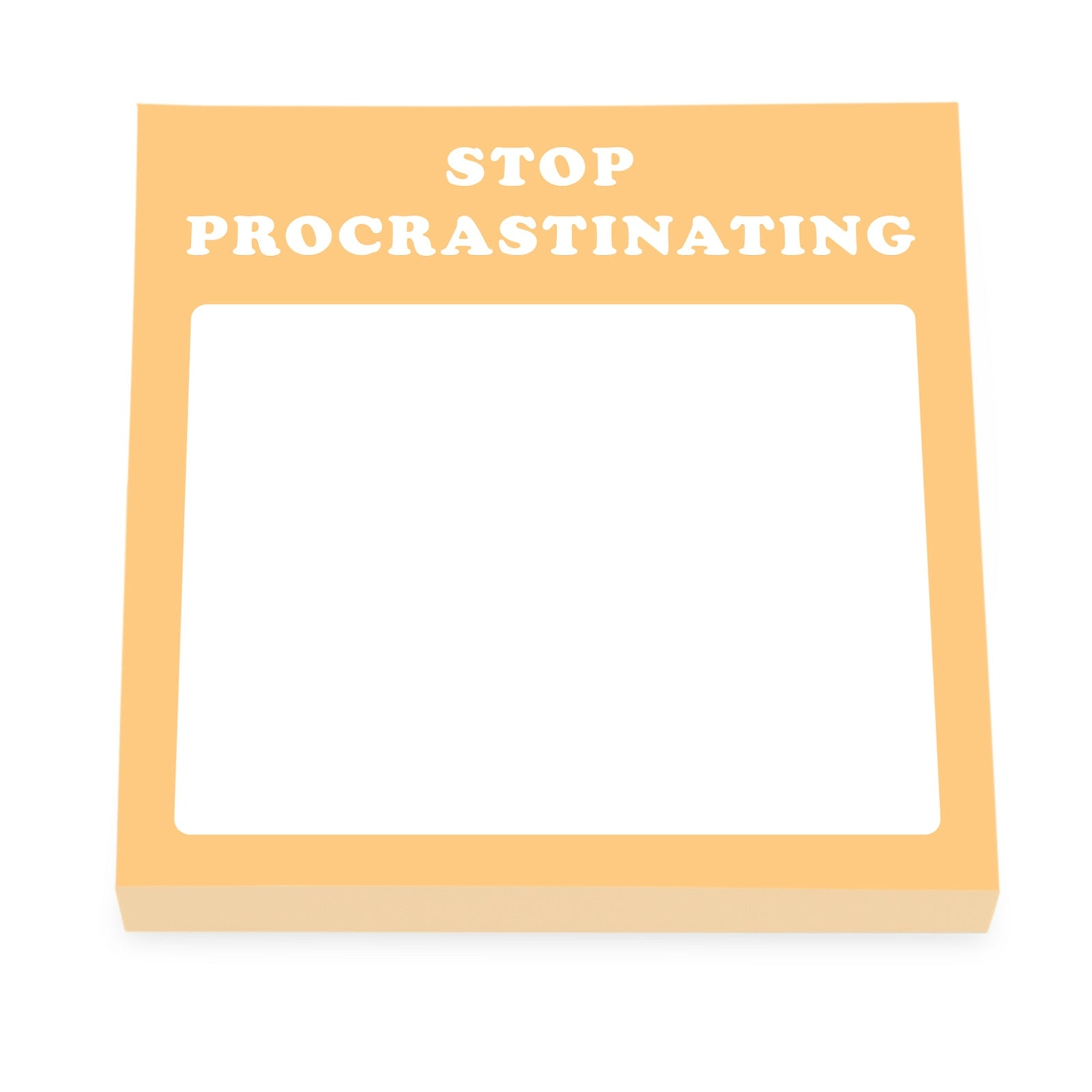 Stop Procrastinating Sticky Notes