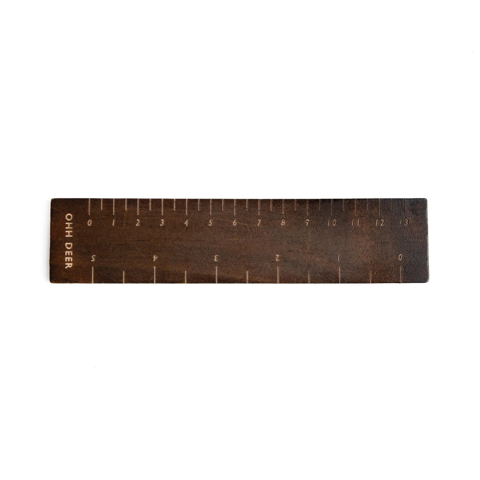 Dark Wooden Ruler