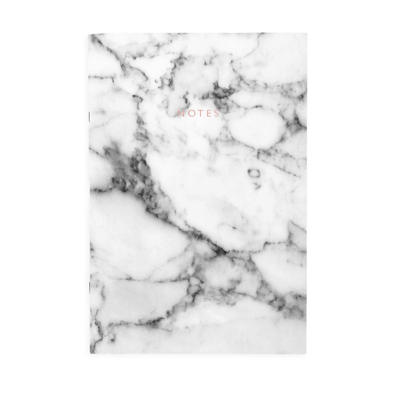 White Marble A4ish Notebook