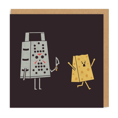 Friday The 13th Square Greeting Card
