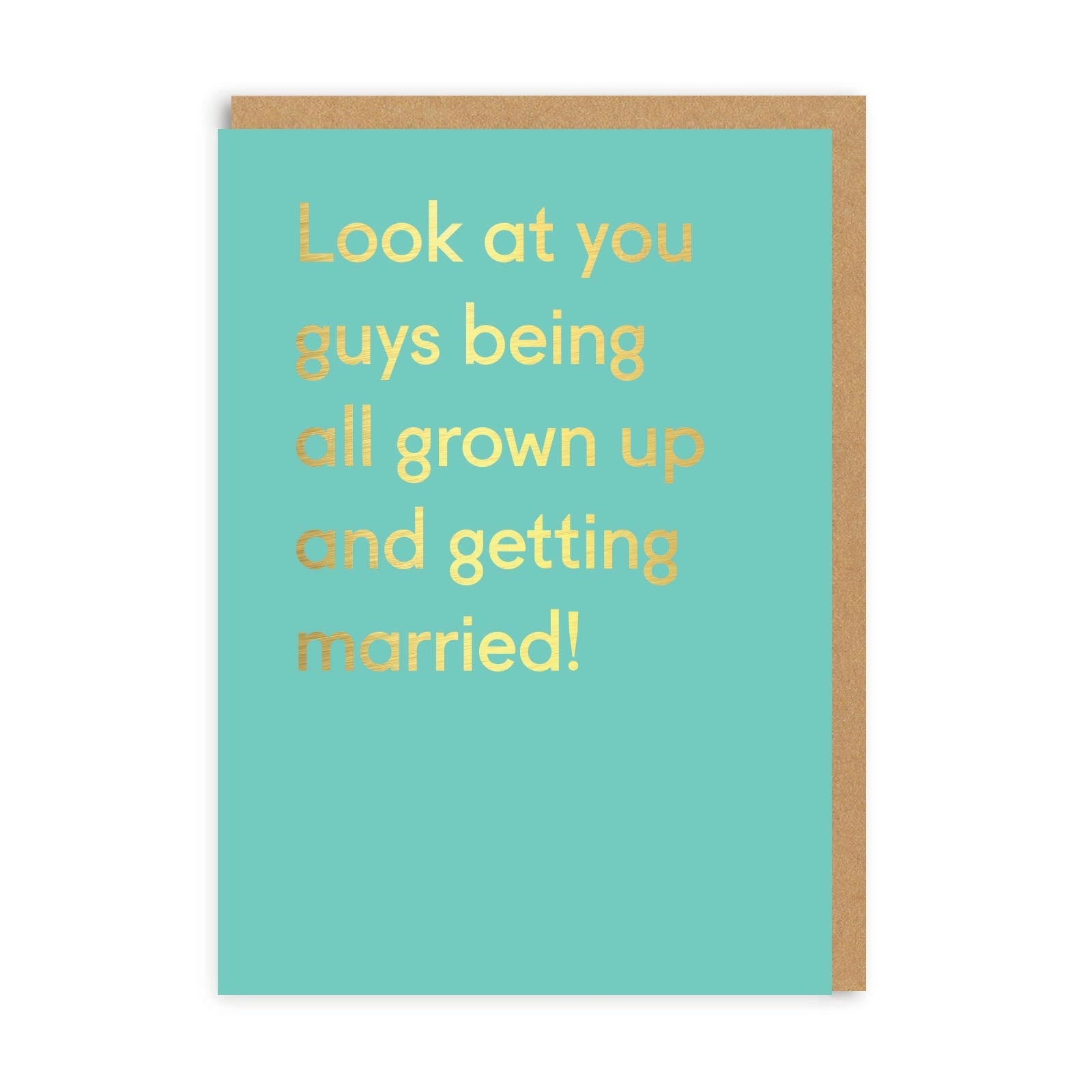 Look At You Guys Greeting Card