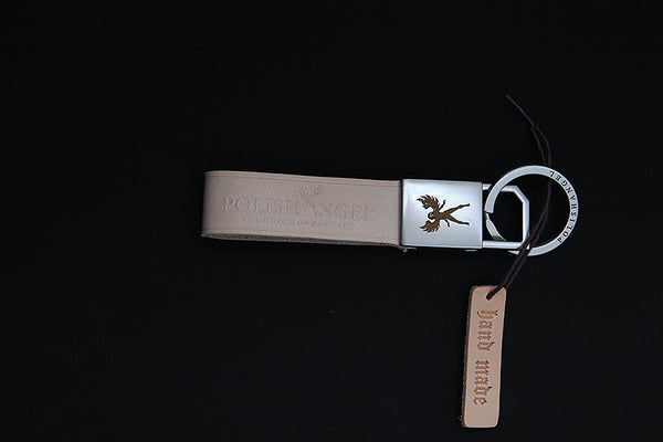 *NEW* POLISHANGEL | LEATHER KEYCHAIN