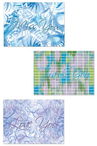 Dreamy Watercolor Note Card Set