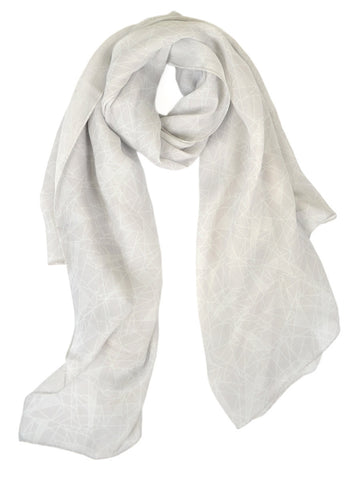 Light Tonal Geo Scarf