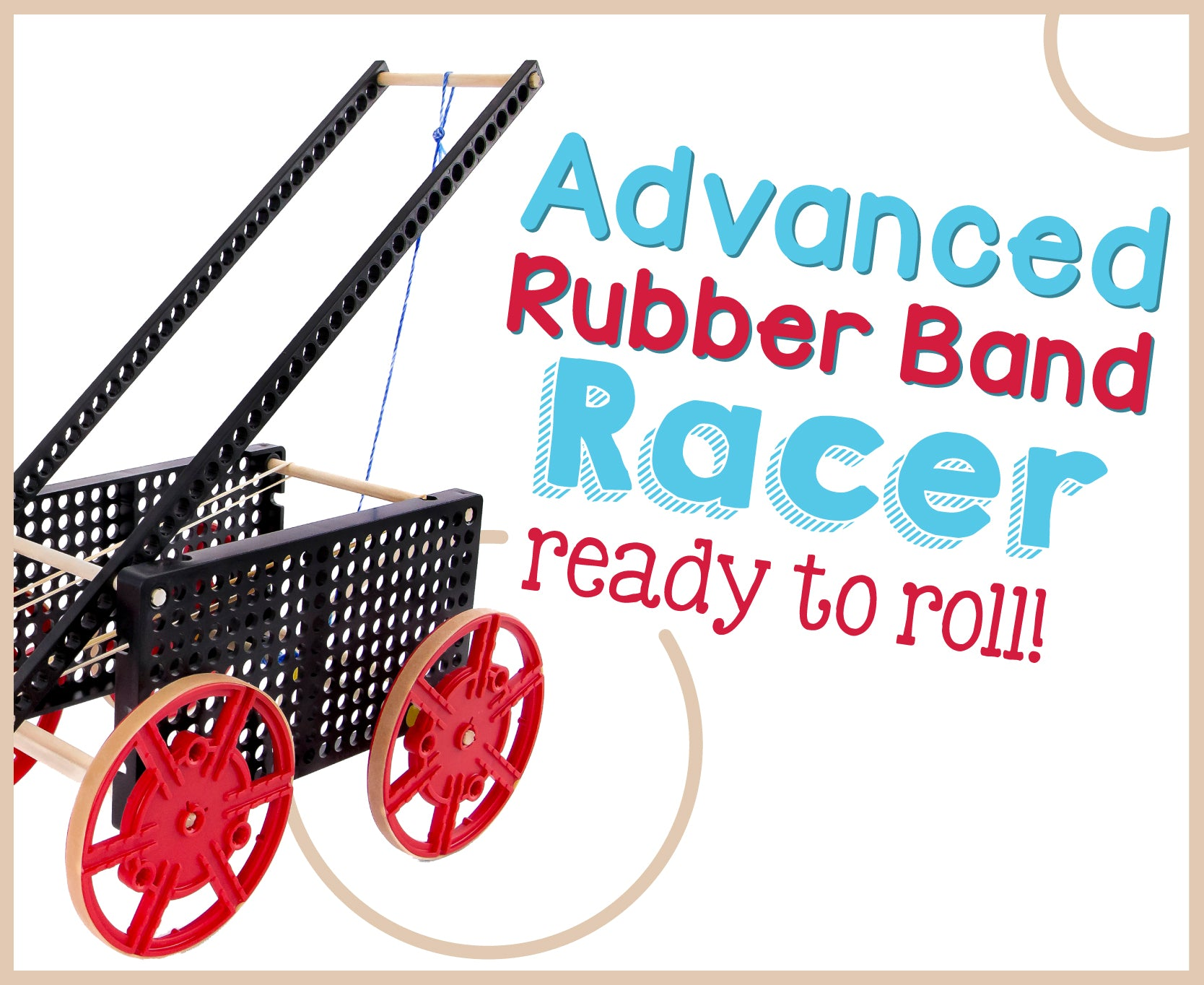 Advanced Rubber Band Racer