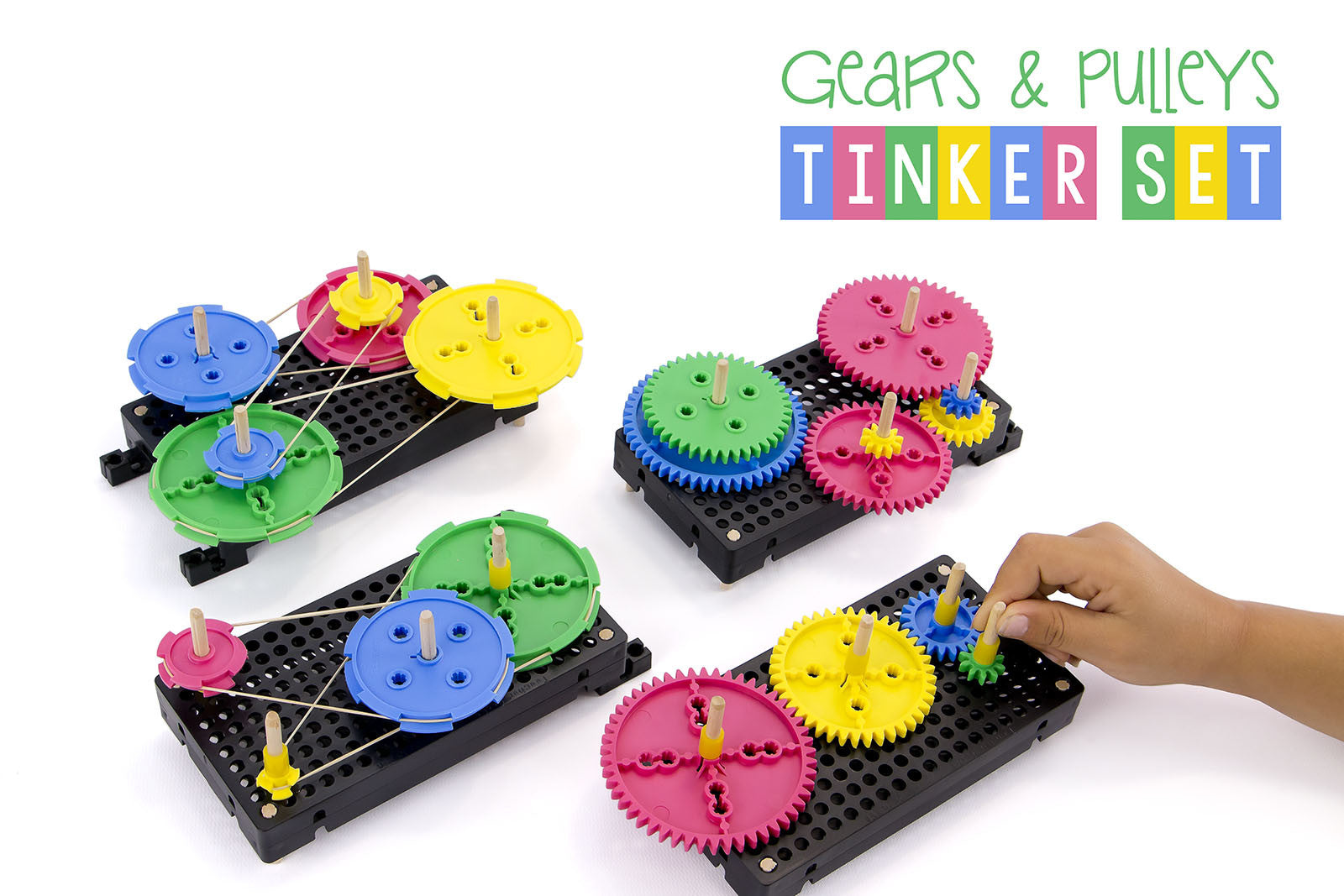 Gears & Pulleys Tinker Set Activity Documents