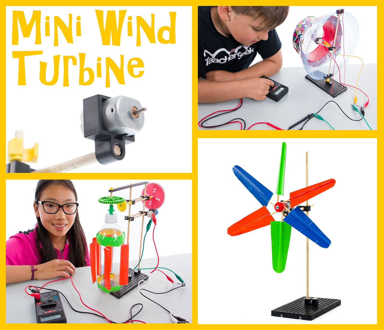 Mini Wind Turbine Activity Documents