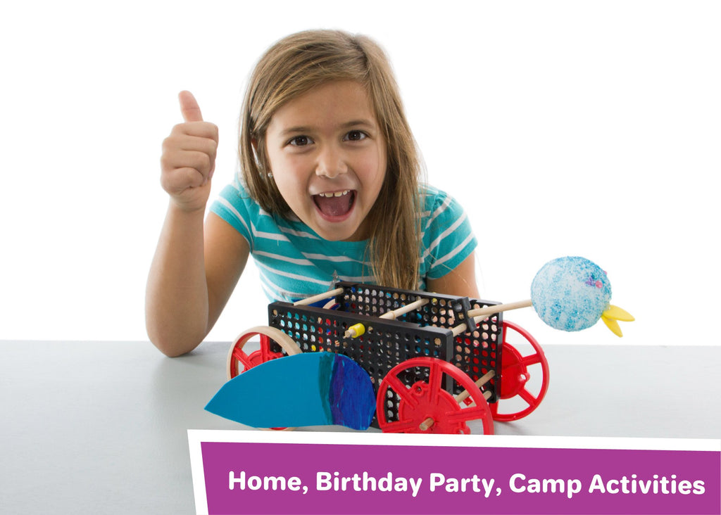 HOME, BIRTHDAY PARTY, CAMP ACTIVITIES