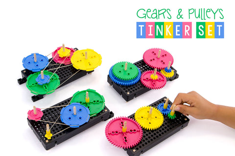 Gears & Pulleys Tinker Set Activity Document Downloads