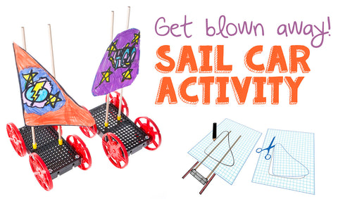 Sail Car Activity from TeacherGeek