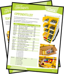 TeacherGeek Maker Cart Components List