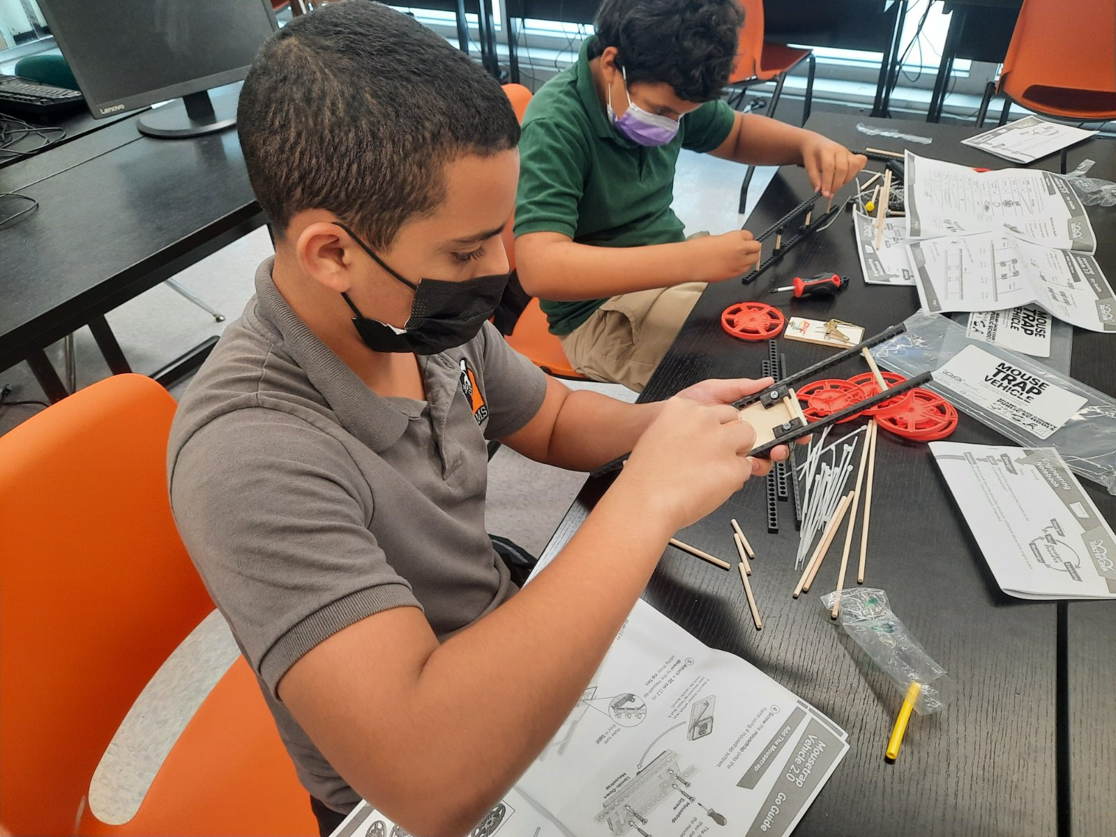 Miami Students making STEM Projects