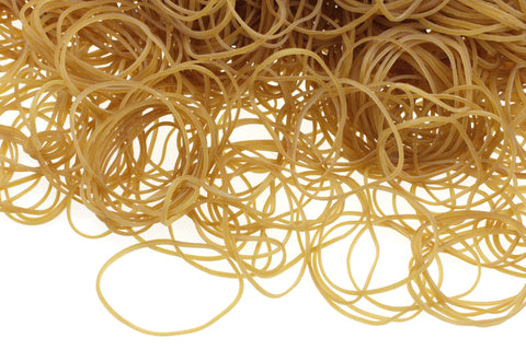 Small Latex Free Rubber Bands - 1 lb